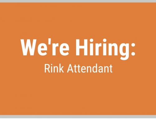 We're Hiring: Rink Attendant