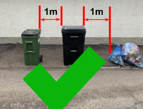 Reminder re: waste collection